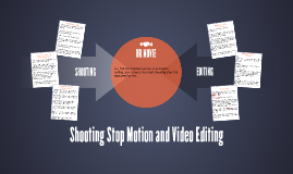 Shooting Stop Motion and Video Editing