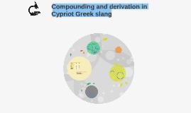 Cypriot Greek slang