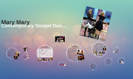 Contemporary Gospel Duo