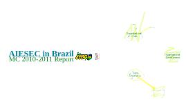 Copy of MC Report 2010-2011 | AIESEC in Brazil
