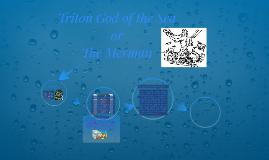 Triton God Of The Sea
