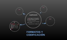 FORMATOS Y CODIFICACIÓN