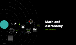 Math and Astronomy