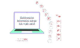 Elektronické informační zdroje: kde a jak začít