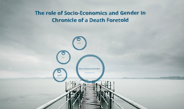 chronicle of a death foretold gender roles