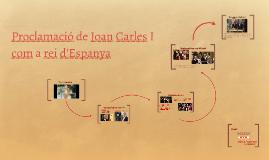 Proclamació de Joan Carles I com a rei d'Espanya