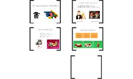 Chinese words & LEGO blocks