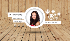 Free Template - A few things about me by José Urrea