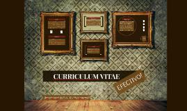 CURRICULUM VITAE EFECTIVO!