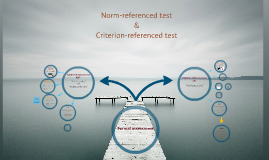 Copy of Norm- Referenced Tests & Criterion-Referenced Tests