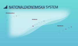 Nationalekonomiska system