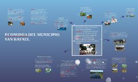 ECONOMIA DEL MUNICIPIO  SAN RAFAEL