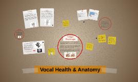 Vocal Health & Anatomy