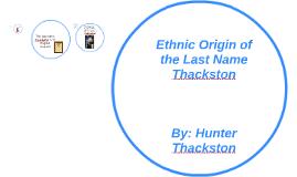 Name Ethnic Origin 18