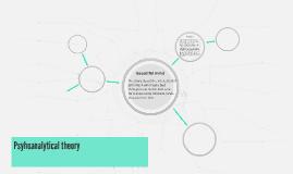 Psyhoanalytical theory