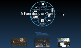 Six Functions of Music Conducting: A New Foundation
