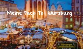 Copy of Tianna's Trip To Würzburg