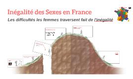 Sexualité et Inegalité dans France