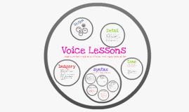 Copy of Copy of Voice Lessons- Nancy Dean