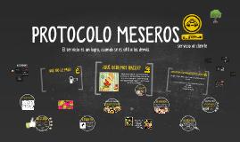 PROTOCOLO MESEROS