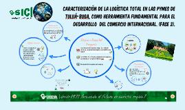 Caracterización de la Logística Total, como herramienta fundamental para el Desarrollo del Comercio Internacional.