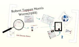 Gusano de Robert Tappan Morris (1988)