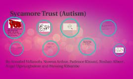 Sycamore Trust (Autism)