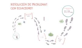 1º Ecuaciones - Resolución de problemas