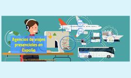 Agencias de viajes presenciales en España