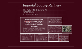 Imperial Sugary Refinery by Selena Nooradeen on Prezi