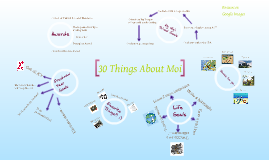 30 Things About Me by Jessa Webber