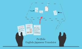 Portfolio - English-Japanese Translator