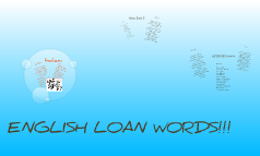 loan words