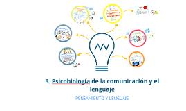 3. Psicobiología de la comunicación y el lenguaje
