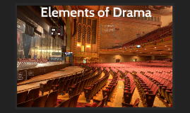 Elements of Drama / Introduction to Hamlet