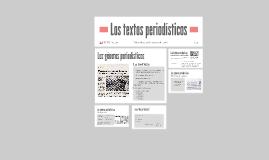 Textos periodisticos