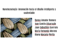 Nanotecnología: innovación hacia el diseño inteligente y sus