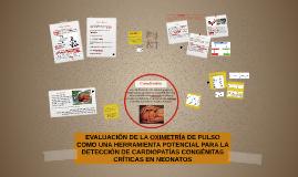 EVALUACIÓN DE LA OXIMETRÍA DE PULSO COMO UNA HERRAMIENTA POT