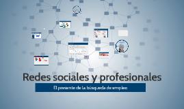 Redes sociales y profesionales para la búsqueda de empleo