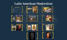 Latin American Modernism