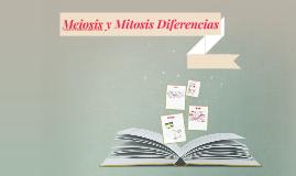 Diferencias entre meiosis y mitosis