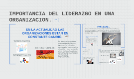 Copy of IMPORTANCIA DEL LIDERAZGO EN UNA