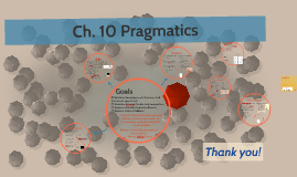 Ch. 10 Pragmatics
