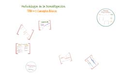Copy of Metodología de la Investigación. Conceptos Básicos