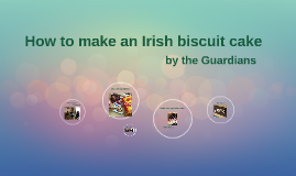How to make an irish biscuit cake