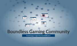 Boundless Gaming Community
