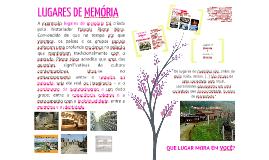 Lugares da Memória