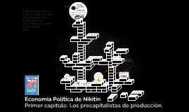 Economia Politica de Nikitin