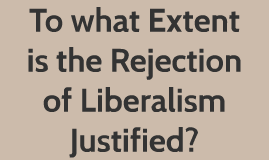 to what extent did the liberal To what extent did aboriginal ideas contribute to the development of liberal thought in north america.