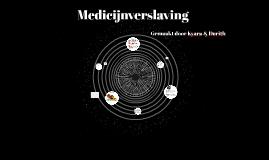 Medicijnverslaving